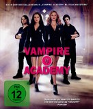 Vampire Academy - German Blu-Ray movie cover (xs thumbnail)