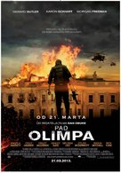 Olympus Has Fallen - Serbian Movie Poster (xs thumbnail)