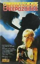 Creepozoids - Spanish VHS movie cover (xs thumbnail)