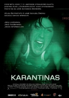 Quarantine - Lithuanian Movie Poster (xs thumbnail)