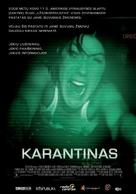 Quarantine - Lithuanian Movie Poster (xs thumbnail)
