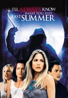 I'll Always Know What You Did Last Summer - DVD cover (xs thumbnail)