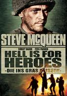 Hell Is for Heroes - German DVD movie cover (xs thumbnail)