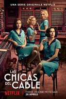 """""""Las chicas del cable"""" - Italian Movie Poster (xs thumbnail)"""