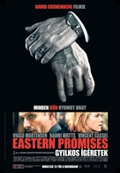 Eastern Promises - Hungarian Movie Poster (xs thumbnail)