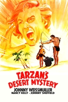 Tarzan's Desert Mystery - Movie Cover (xs thumbnail)