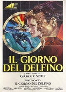 The Day of the Dolphin - Italian Movie Poster (xs thumbnail)