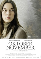 Oktober November - Austrian Movie Poster (xs thumbnail)