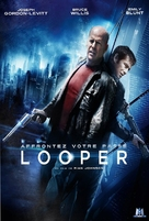 Looper - French DVD movie cover (xs thumbnail)