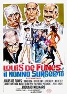 Hibernatus - Italian Movie Poster (xs thumbnail)