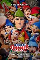Sherlock Gnomes - Brazilian Movie Poster (xs thumbnail)