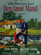 The Quiet Man - Danish Movie Poster (xs thumbnail)