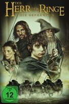 The Lord of the Rings: The Fellowship of the Ring - German Movie Cover (xs thumbnail)
