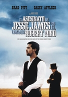 The Assassination of Jesse James by the Coward Robert Ford - Argentinian DVD cover (xs thumbnail)