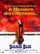 Soldier Blue - French Re-release poster (xs thumbnail)