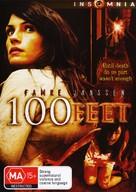 100 Feet - Australian DVD movie cover (xs thumbnail)