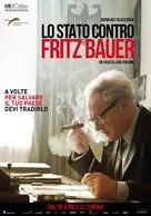 Der Staat gegen Fritz Bauer - Italian Movie Poster (xs thumbnail)