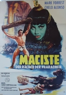 Maciste nella valle dei re - German Movie Poster (xs thumbnail)
