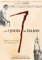 Les 7 jours du talion - French Movie Poster (xs thumbnail)