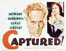 Captured! - Movie Poster (xs thumbnail)