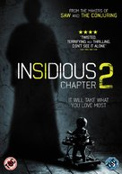 Insidious: Chapter 2 - British DVD movie cover (xs thumbnail)