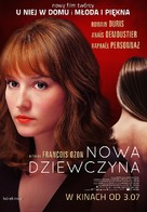 Une nouvelle amie - Polish Movie Poster (xs thumbnail)