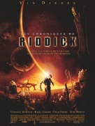 The Chronicles Of Riddick - French Movie Poster (xs thumbnail)