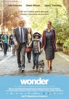Wonder - Italian Movie Poster (xs thumbnail)