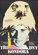 Three Days of the Condor - Czech Movie Poster (xs thumbnail)