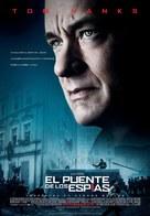Bridge of Spies - Spanish Movie Poster (xs thumbnail)