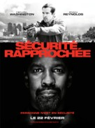 Safe House - French Movie Poster (xs thumbnail)