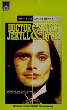 Dr. Jekyll and Sister Hyde - German VHS cover (xs thumbnail)