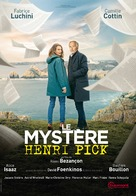 Le mystère Henri Pick - French DVD movie cover (xs thumbnail)