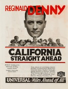 California Straight Ahead - poster (xs thumbnail)
