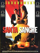 Santa sangre - French Movie Poster (xs thumbnail)