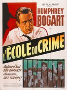 Crime School - French Re-release poster (xs thumbnail)