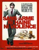 Sans arme, ni haine, ni violence - French poster (xs thumbnail)
