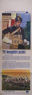 The Lives of a Bengal Lancer - Czech Movie Poster (xs thumbnail)