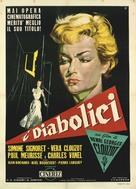 Les diaboliques - Italian Movie Poster (xs thumbnail)