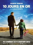 10 jours en or - French Movie Poster (xs thumbnail)