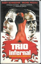 Trio infernal, Le - German Movie Poster (xs thumbnail)