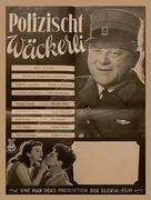 Polizischt Wäckerli - Swiss Movie Poster (xs thumbnail)