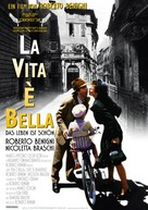 La vita è bella - German Movie Poster (xs thumbnail)