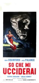 Sudden Fear - Italian Movie Poster (xs thumbnail)