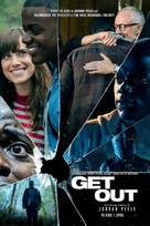 Get Out - Norwegian Movie Poster (xs thumbnail)