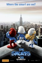 The Smurfs - Australian Movie Poster (xs thumbnail)