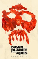 Dawn of the Planet of the Apes - Movie Poster (xs thumbnail)