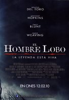 The Wolfman - Spanish Movie Poster (xs thumbnail)