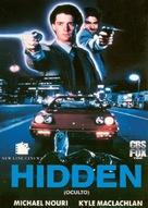 The Hidden - Spanish DVD movie cover (xs thumbnail)