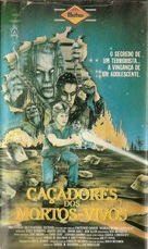 Raiders of the Living Dead - Brazilian VHS cover (xs thumbnail)